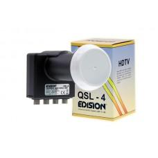 Edision Quad(Quattro Switch) LNB QSL-4 Universal